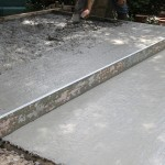 Construction terrasse béton