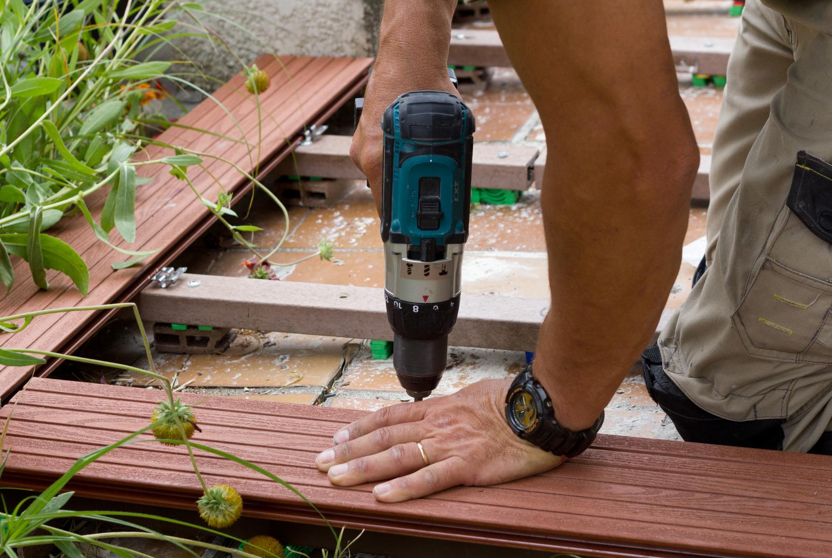 faire une terrasse les astuces et conseils pour faire une terrasse. Black Bedroom Furniture Sets. Home Design Ideas