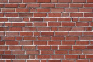 Mur briques parement