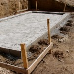 Réaliser fondations garage.