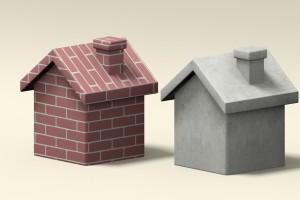 Brique parpaing.