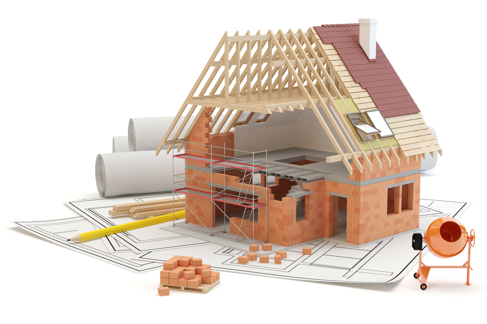 Le prix de construction d une maison for Construction maison 3d