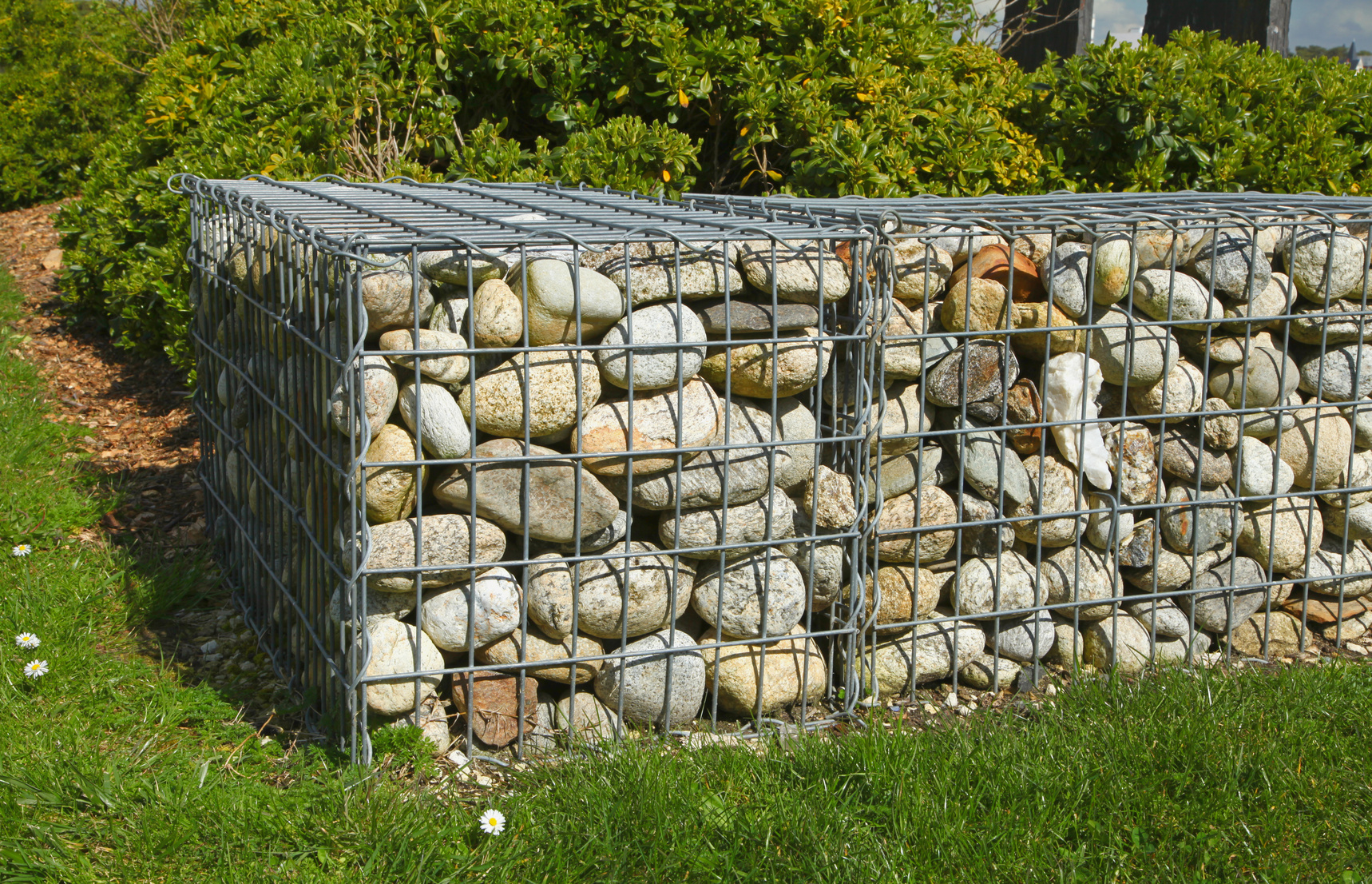 prix du gabion et de sa pose. Black Bedroom Furniture Sets. Home Design Ideas