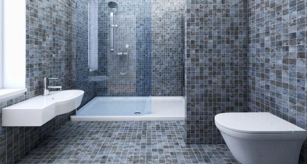 Tarif de pose d 39 un carrelage de salle de bain - Prix pose carrelage mural salle de bain ...