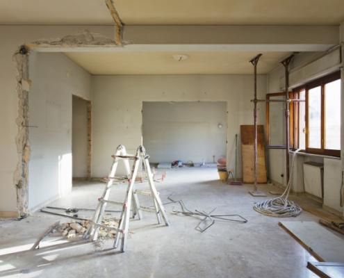 Coût de rénovation d'un appartement