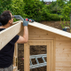 Coût de construction d'un chalet en bois habitable